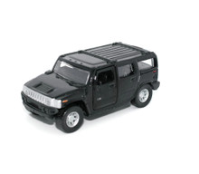 Hummer H2 SUV Maisto Diecast 1:46 Scale Black FREE SHIPPING
