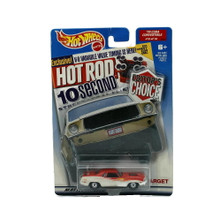 Hot Wheels Editor's Choice Hot Rod Magazine 1970 Plymouth Cuda Diecast 1:64 Scale