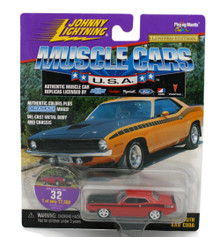 1969 Plymouth Roadrunner JOHNNY LIGHTNING MUSCLE CARS Diecast 1:64 Scale FREE SHIPPING