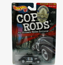 1934 Ford Hot Wheels COP RODS Jefferson City, MO Police  Diecast 1:64 Scale