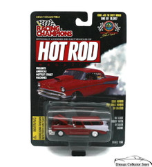 1956 Chevy Nomad RACING CHAMPIONS HOT ROD MAGAZINE Diecast 1:61 FREE SHIPPING