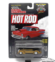 1937 Ford Coupe RACING CHAMPIONS HOT ROD MAGAZINE Diecast 1:58 FREE SHIPPING