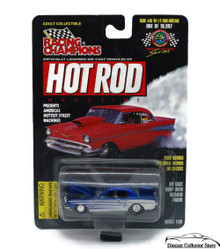 1964 1/2 For Mustang RACING CHAMPIONS HOT ROD MAGAZINE Diecast 1:62 FREE SHIPPING