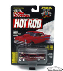 1957 Chevy Bel Air RACING CHAMPIONS HOT ROD MAGAZINE Diecast 1:61 FREE SHIPPING