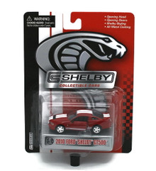 2010 Ford Shelby GT500 SHELBY COLLECTIBLES Diecast 1:64 Red FREE SHIPPING