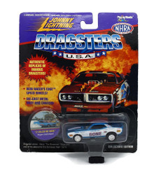Johnny Lightning Dragsters '72 Color Me Gone Dodge Challenger FREE SHIPPING
