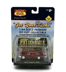1957 Chrysler 300C Original Toy Co ROUTE 66 Diecast 1:64 FREE SHIPPING