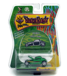 1933 Ford Coupe SHOW RODZ Diecast 1:64 Scale Green  FREE SHIPPING