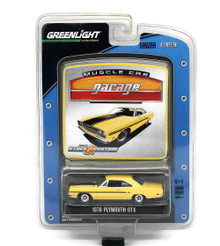 1970 Plymouth GTX Scale Greenlight Muscle Car Garage Diecast 1:64 FREE SHIPPING