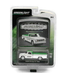 1965 Dodge D-100 Pickup Greenlight GL Exclusive Diecast 1:64 Scale FREE SHIPPING