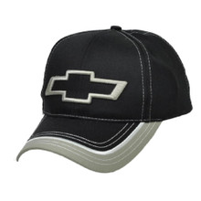 Hat - Chevrolet  Bow Tie Logo 3-D Embroidered Ball Cap Adjustable FREE SHIPPING