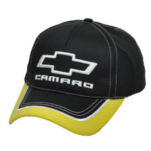 Hat - Chevrolet  Camaro Logo 3-D Embroidered Ball Cap  FREE SHIPPING