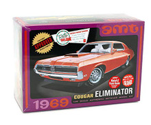 1969 Mercury Cougar Eliminator AMT 898 1:25 Scale Plastic Model Kit