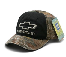 Hat - Chevrolet True Timber Camouflage & Black Ball Cap Adjustable FREE SHIPPING