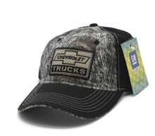 Hat - Chevrolet Trucks TrueTimber Camouflage & Black Embroidered Ball Cap FREE SHIPPING