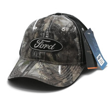 Hat - Ford TrueTimber Camouflage & Black Embroidered Ball Cap FREE SHIPPING