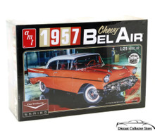 1957 Chevy Belair Car AMT 1:25 Scale Model Car Kit Car Culture Series