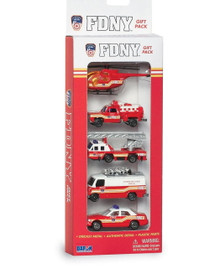 FDNY Vehicle 5 Piece Gift Set Daron Diecast FREE SHIPPING