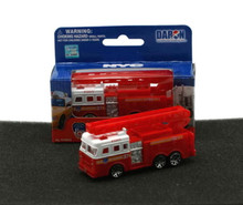 "FDNY Fire Engine Truck 3"" Daron Diecast 1:64 Scale FREE SHIPPING"