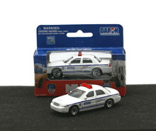 "NYC Police Ford Crown Victoria  3"" Daron Diecast 1:64 Scale FREE SHIPPING"
