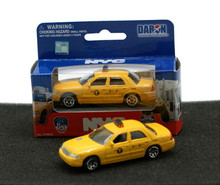 "NYC TAXI Ford Crown Victoria  3"" Daron Diecast 1:64 Scale FREE SHIPPING"