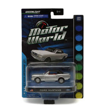 Ford Mustang GREENLIGHT MOTOR WORLD Diecast 1:64 Scale FREE SHIPPING