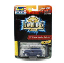 1939 Chevy Sedan Delivery Revell LOWRIDERS BOMB Series Diecast 1:64 Scale Blue
