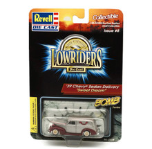 1939 Chevy Sedan Delivery Revell LOWRIDERS BOMB Series Diecast 1:64 Scale Silver