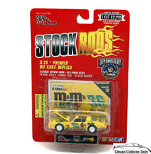 1968 Pontiac GTO Racing Champions STOCK RODS Diecast 1:64 Ernie Irvan #36 M&M's
