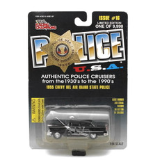 1955 Chevy Bel Air Idaho State Patrol POLICE USA LE Diecast 1:64 FREE SHIPPING