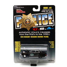 1949 Mercury Missouri Hwy Patrol POLICE USA LE Diecast 1:55 Scale FREE SHIPPING