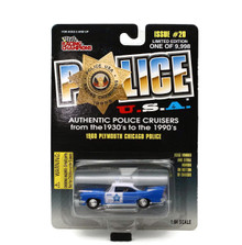 1960 Plymouth Chicago Police POLICE USA LE Diecast 1:64 Scale FREE SHIPPING