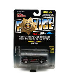 1968 Chevy Camaro D.A.R.E. CAR POLICE USA LE Diecast 1:56 Scale FREE SHIPPING