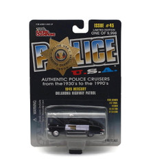 1949 Mercury Oklahoma Hwy Patrol POLICE USA LE Diecast 1:55 Scale FREE SHIPPING