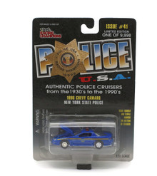 1996 Chevy Camaro New York State Police POLICE USA Diecast 1:59 Scale FREE SHIPPING