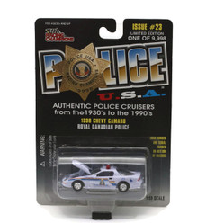 1996 Chevy Camaro Royal Canadian Police POLICE USA Diecast 1:59 Scale FREE SHIPPING