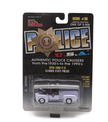 1948 Ford Pickup Illinois State Police POLICE USA LE Diecast 1:58 FREE SHIPPING