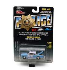 1960 Chevy Corvair New Orleans Police POLICE USA Diecast 1:56  FREE SHIPPING