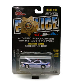 1996 Chevy Camaro Harris County Texas Sheriff POLICE USA Diecast 1:59 Scale FREE SHIPPING