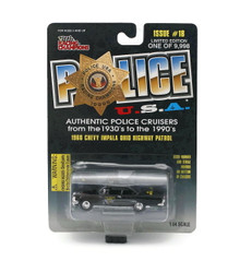 1960 Chevy Impala Ohio Hwy Patrol POLICE USA Issue #18 Diecast 1:64 FREE SHIPPING