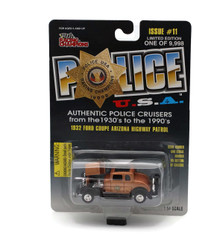 1932 Ford Coupe Arizona Hwy Patrol POLICE USA LE #11 Diecast 1:54 FREE SHIPPING