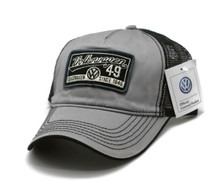 Hat - Volkswagon '49 VW Since 1949 Vented Trucker Style Mesh Cap FREE SHIPPING