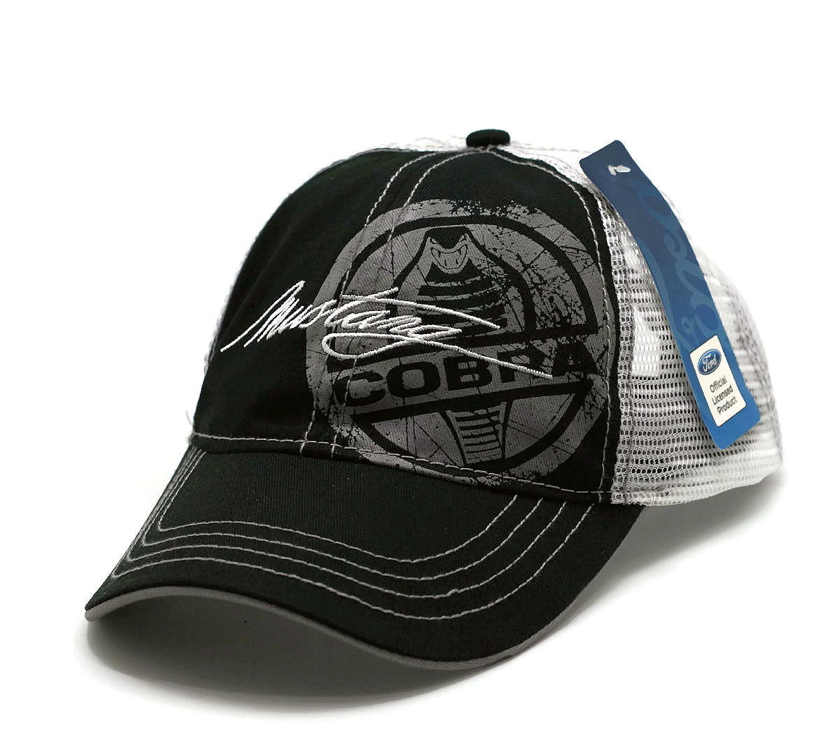 1acd04a7b Hat - Ford Cobra Mustang Adjustable Mesh Vented Ball Cap FREE SHIPPING