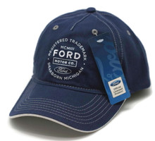 Hat - Ford Motor Co Dearborn MI Embroidered Adjustable Cap FREE SHIPPING