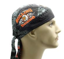 Bandana Headwrap DANBANNA DELUXE Rolling Thunder Du-Rag Skull Cap