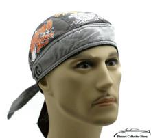 Bandana Headwrap DANBANNA DELUXE The Legend Lives Du-Rag Skull Cap