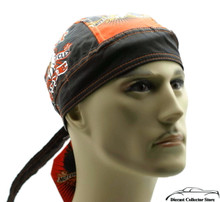 Bandana Headwrap DANBANNA DELUXE Just Ride Du-Rag Skull Cap
