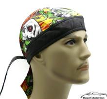Bandana Headwrap DANBANNA DELUXE Snake Bite Du-Rag Skull Cap