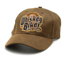 Hat - Hardcore Whiskey Biker Embroidered Oild Skin Adjustable Cap FREE SHIPPING