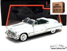 1949 Cadillac Coupe de Ville ROAD SIGNATURE Diecast 1:43 White FREE SHIPPING